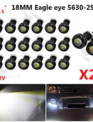 20 х 9w водить глаза орла света тумана автомобиля DRL дневного обратного резервного сигнала парковки черный 12v