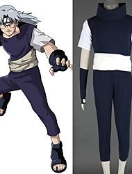 Naruto Yakushi Kabuto Cosplay Costume Inclued Vests T-Shirts Belts Pants Gloves