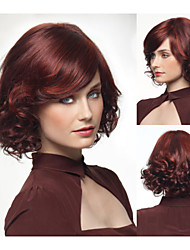 Fashionable Synthetic African American wigs Long Wavy hair wig for women Sexy Natural wigs with Bangs sw0383