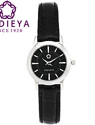 KEDIEYA Top Brand 5 Colors Genuine Leather Waterproof Women Quartz Watch Black Wristwatch Cool Watches Unique Watches