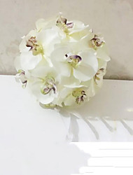 18 cm High Quality Phalaenopsis Bouquet Simulation Artificial Flower for Wedding