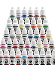 Tattoo-Tinten Set Tattoo-Kit Pigment Panda 8ml 40 Farbe ti2002-8-40