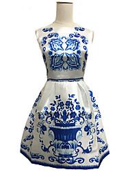 Women's Casual/Work Sleeveless Dresses (Polyester)
