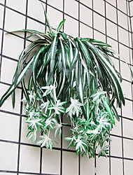 1 Pcs Chlorophytum Comosum for Wedding, Silk Flowers Artificial Flowers for Wedding home Decoration