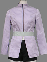 Inspired by Naruto Karin Anime Cosplay Costumes Cosplay Suits Patchwork Purple Coat / Shorts / Belt / Stockings