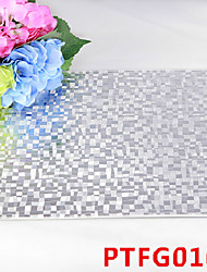 Pixel Block Leather Without Washing Placemat Dining Table / Wedding Party Decoration / Table Decoration / Weddings