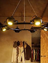 3W Luzes Pingente ,  Tradicional/Clássico / Rústico/Campestre / Retro / Rústico Pintura Característica for LED MetalSala de Estar /
