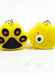 Cat / Dog Tags LED Lights Yellow Plastic / Stainless Steel