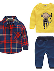 Boy's Cotton Clothing Set , Spring Long Sleeve