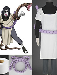 Inspired by Naruto Orochimaru Anime Cosplay Costumes Cosplay Suits Patchwork White Coat / T-shirt / Pants / Waist Accessory / Bandage