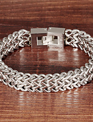 Personality Overlord Chain Stainless Steel Men's Bracelet