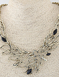 Necklace Statement Necklaces Jewelry Party / Daily / Casual Alloy Bronze / Silver 1pc Gift