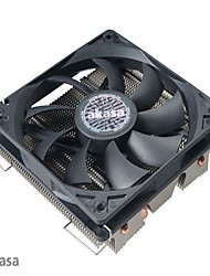 Akasa Nero LX Mute High Performance low Profile CPU 9-Blade Cooler