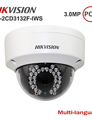 Hikvision® Wifi Mini Dome Camera DS-2CD3132F-IWS with Audio/Alarm/SD Card Slot/Night Vision