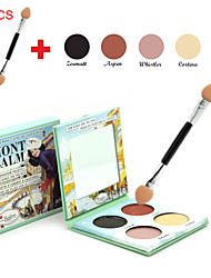 MONT BALM- 4 Color Eye Shadow + 10PCS Eye Shadow Brush