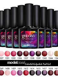 Modelones Gelpolish Soak Off UV Gel Polish Nail Art Color Gel