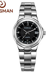 EASMAN® Brands Watch Black Date Waterproof Women Ladies Watches Soild Steel Quartz Luxury Watches for Women Cool Watches Unique Watches
