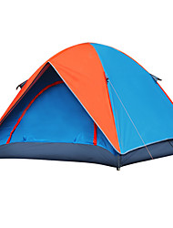 SHENGCUNZHE Waterproof / Windproof Oxford / Polyester One Room Tent Yellow / Orange