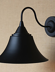 American Country Creative Personality Simple Clothing Store Iron Black Horn Decorative Wall Lamp