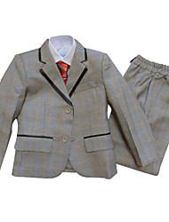 Ring-Träger Anzug-3-Silber-Polyester/Baumwollmischung