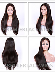 2016 Hot New Hot Unprocessed Natural Straight 6-26 Inches 8A Brazilian Virgin Human Hair Full Lace Front Wigs