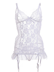Women Lace Gartered Lingerie/Lace Lingerie Nightwear (without stockings)
