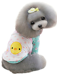 Dog Coat Yellow / Pink Dog Clothes Winter Fashion