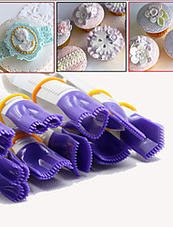 10pcs Cake Clip Plastic Tweezers Cake Cookies Pastry Cutter Decoration Mold Tools