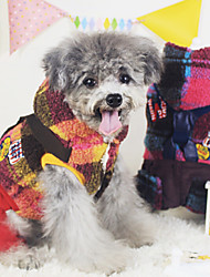 Dog Coat / Clothes/Jumpsuit Red / Yellow Dog Clothes Winter Fashion