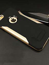 Pour Coques iPhone 6 Plus Antichoc Dépoli Coque Coque Arrière Coque Armure Flexible Silicone pour Apple iPhone 6s Plus/6 Plus