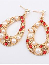 Cute / Casual Alloy / Imitation Pearl Drop Earrings