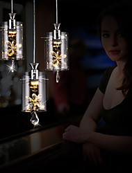 Modern/Contemporary Crystal Others Glass Pendant Lights Living Room / Bedroom / Dining Room / Study Room/Office
