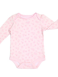 Girl's Pink Clothing Set , Floral Cotton Summer