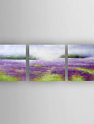 Ручная роспись ПейзажModern 3 панели Холст Hang-роспись маслом For Украшение дома