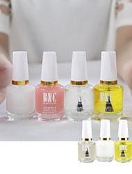 1set 4pcs Nail Polish Armor Oil Softener Light Oil Nutrition Transparent Bottom Oil