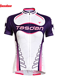 TASDAN® Cycling Jersey with Shorts Women's Short Sleeve Breathable / Quick Dry / Ultraviolet Resistant / Sweat-wicking BikeJersey +
