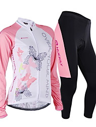 NUCKILY Bike/Cycling Jersey / Jersey + Pants/Jersey+Tights / Clothing Sets/Suits Women's Long SleeveBreathable / Moisture Permeability /