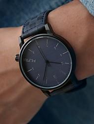 Hombre Reloj de Pulsera Cuarzo PU Banda Negro # 2 # 3 # 4 # 5 # 6