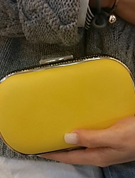 Women's Fashion Yellow Clutches Wedding Party