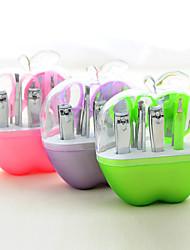 Eyelash Razors / Eyebrow Tweezer Stainless Steel 1pcs Round 15x15x5cm Set Green / Purple / Pink