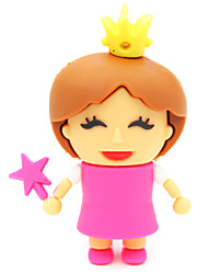 ZPK30 64GB Little Princess Cartoon USB 2.0 Flash Memory Drive U Stick
