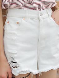 Women's New Style High Waist Jean Shorts Loose Show Thin Women's Pants & Leggings