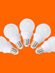 5 pcs fsl® e26 / e27 5 w 10 cms 3528 350 lm blanc chaud / blanc froid g globe ampoules ac 220-240 v