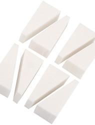 8 unidades / lote polimento bloco pedicure arquivo de buffer arte do prego manicure lixar ferramentas de beleza polonês maquiagem branca