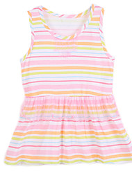 Girl Cotton Dress , Summer Sleeveless