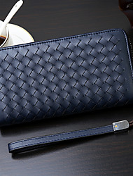 Men PU Casual Clutch Clutch / Wallet - Blue / Brown / Black