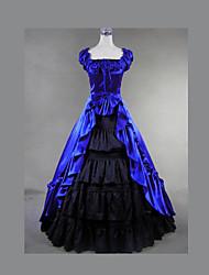 venda superior vestido lolita gótica vestido de casamento do Victorian do vintage