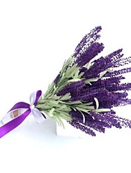 Wedding Flowers Free-form Lavenders Bouquets