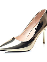 Women's Shoes Stiletto Heel Heels / Pointed Toe / Closed Toe Heels Dress Blue / Red / Silver / Gray / Gold