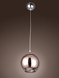Max 60 W Moderno / Contemporáneo / Esfera Galvanizado Metal Lámparas Colgantes Sala de estar / Dormitorio / Comedor